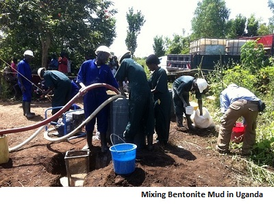how to know where to drill a borehole